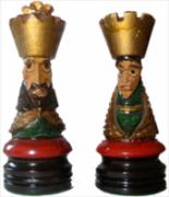 roi reine noire